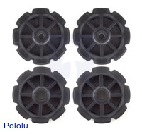 Injection-Molded Sprocket Set 8T Futaba