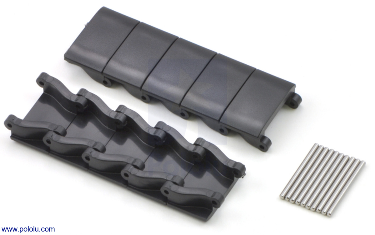 Pololu Discontinued Items Egrated Circuit Type 747 Accommodates Two Operational Amplifiers Miniature Track Link And Pin Black