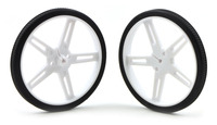 Pololu Wheel 70x8mm Pair - White