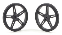 Pololu Wheel 70×8mm Pair - Black
