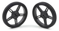 Pololu Wheel 60×8mm Pair - Black