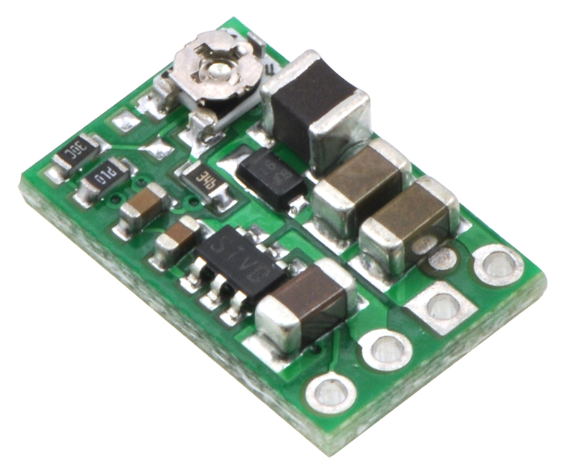 pololu step down voltage regulator d24v6ahvAdjustable 15a Step Down 15 Mhz Switching Regulator #15