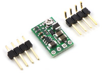 Pololu step-down voltage regulator D24VxAxx with included hardware.