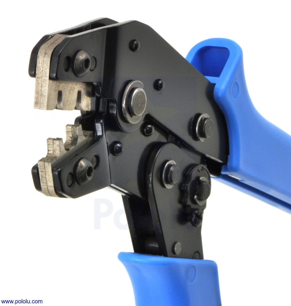 Pololu - Crimping Tool: 0.08-0.5 mm² Capacity, 20-28 AWG