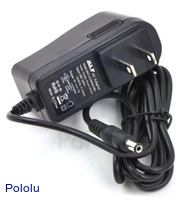 Wall Power Adapter: 9VDC, 1A, 5.5×2.1mm Barrel Jack, Center-Positive
