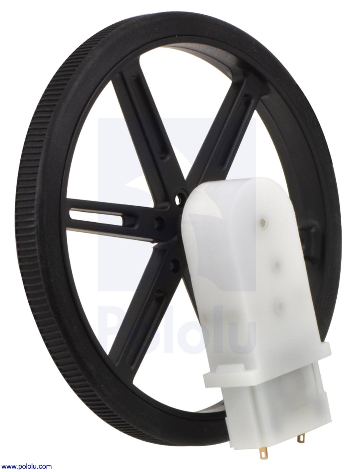 how to put a wheel on a d sharft