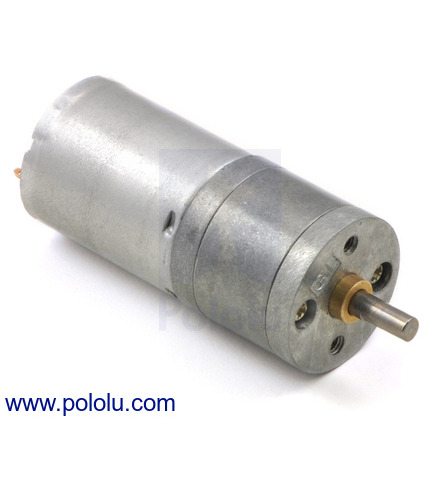 Pololu - 6V High-Power (HP) 25D mm Gearmotors