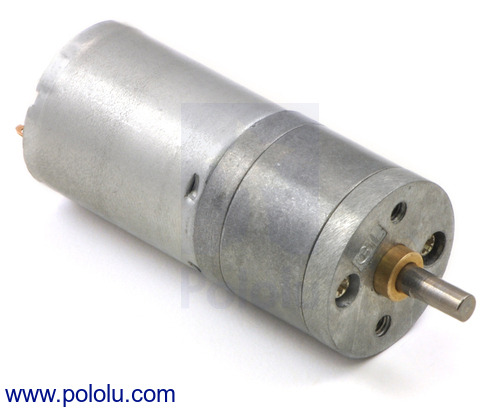 New products: 12V versions of the 25D mm metal gearmotors