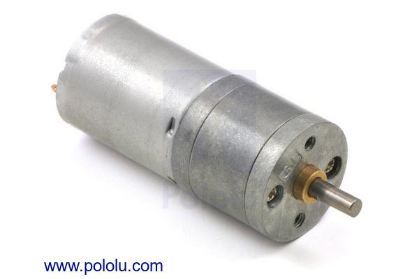 Pololu - 25D mm Metal Gearmotors