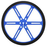 Pololu wheel 90×10mm – blue.