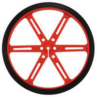 Pololu wheel 90×10mm – red.