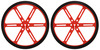 Pololu Wheel 90×10mm Pair - Red