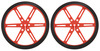 Pololu Wheel 80x10mm Pair - Red