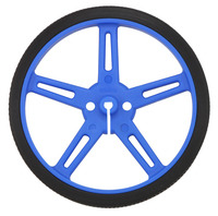 Pololu wheel 70×8mm – blue.