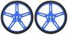 Pololu Wheel 70×8mm Pair - Blue