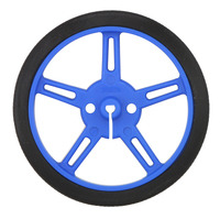 Pololu wheel 60×8mm – blue.