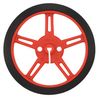 Pololu wheel 60×8mm – red.