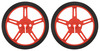 Pololu Wheel 60×8mm Pair - Red