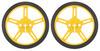 Pololu Wheel 60×8mm Pair - Yellow