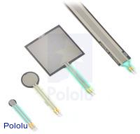 """Force-Sensing Resistor - 1.5"""" Square"""