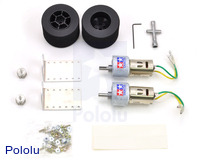 Tamiya 72101 Gear Head Motor + Sponge Tire Set