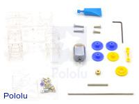 Tamiya 89917 single gearbox kit – clear.