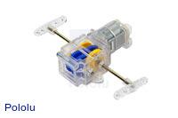 Tamiya 89917 Single Gearbox Kit - Clear