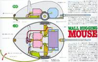 Tamiya 70068 Wall-Hugging Mouse box back.