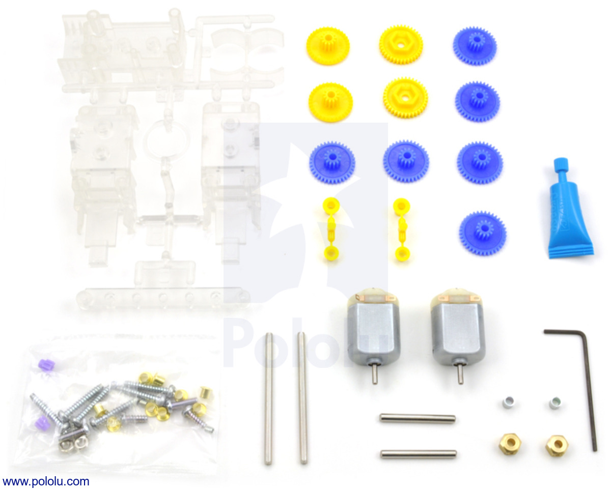 Pololu - Tamiya 70168 Double Gearbox Kit