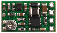 Pololu step-up/step-down voltage regulator S8V3A, top view.