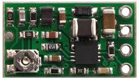 Pololu step-up/step-down voltage regulator S8V3A, top view.