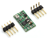 Pololu step-up/step-down voltage regulator S8V3A with included hardware.