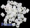 Nylon Spacer: 4mm Length, 4mm OD, 2.7mm ID (50-Pack)
