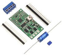 Simple High-Power Motor Controller 18v15 or 24v12, partial kit with included hardware.