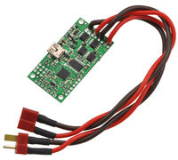 Simple High-Power Motor Controller 18v15 or 24v12, partial kit with custom power and motor connectors (NOT included).