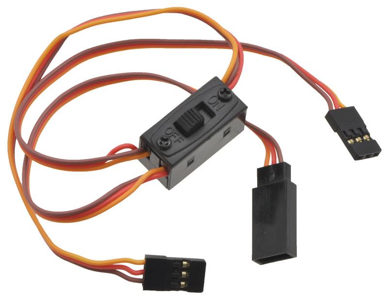 pololu servo switch harness 12 rh pololu com JR Servo Wires Servo Motor Diagram