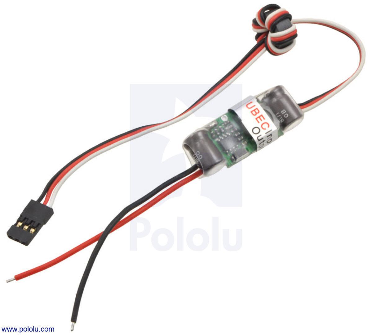 Pololu 5v 3a Bec Step Down Voltage Regulator Wiring New