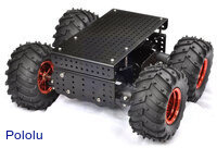Dagu Wild Thumper 4WD All-Terrain Chassis, Black, 75:1