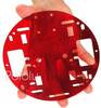 Pololu Robot Chassis RRC01A Transparent Red