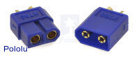 XT60 Connector Male-Female Pair, Blue