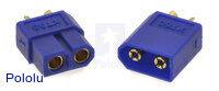 XT60 Connector Male-Female Pair, Blue