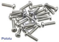 "Machine Screw: #2-56, 5/16"" Length, Phillips (25-pack)"