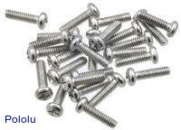 "Machine Screw: #2-56, 5/16"" Length, Phillips (25-pack)"