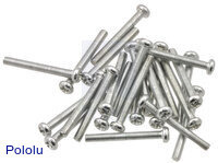 "Machine Screw: #4-40, 1"" Length, Phillips (25-pack)"