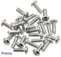 "Machine Screw: #4-40, 5/16"" Length, Phillips (25-pack)"