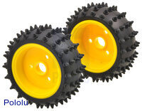 Tamiya 70194 Spike Tire Set (2 tires)