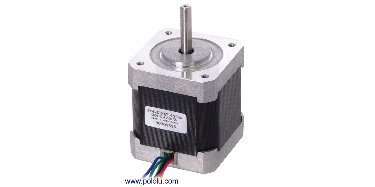 Pololu stepper motors for Nema design b motor