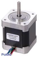 Stepper Motor: Unipolar/Bipolar, 200 Steps/Rev, 42×48mm, 4V, 1.2 A/Phase