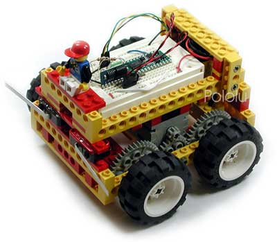 Pololu Basic Lego Robot