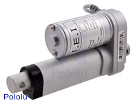 "Concentric LACT2-12V-20 Linear Actuator: 2"" Stroke, 12V, 0.5""/s"